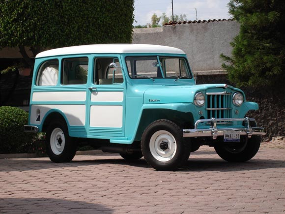 1956 Willys Jeep Station Wagon Pictures To Pin On