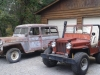 1947 Willys CJ-2A, 1953 Willys Wagon