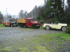 1946 Stakebed, 1949 Jeepster, 1946 Wagon