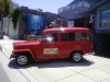 Willys Wagon in Laguna Beach