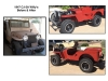 1947 CJ-2A Willys Jeep - Before and After