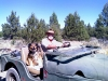 Dave and Queenie in 1965 CJ-5 Jeep