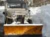 Willys Jeep with Snow Plow