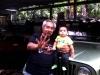 Juan Lopez Badillo with Grandson