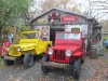 Willys CJ-2A Jeep and CJ-3A