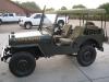 1950 Willys CJV35/U 1/4 Ton Radio Truck