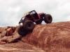 Willys Jeep rock crawler