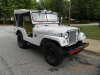 1953 Willys M38A1 Shore Patrol Jeep