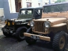 CJ-3A and M38 Willys Jeeps