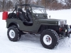 1951 Willys CJ-3A Jeep