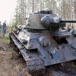 WWII Tank Found After 62 Years