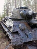Abandoned WWII Tank is pulled from its tomb after 62 years in the mud!
