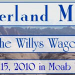 1st Annual Willys Overland Rally!