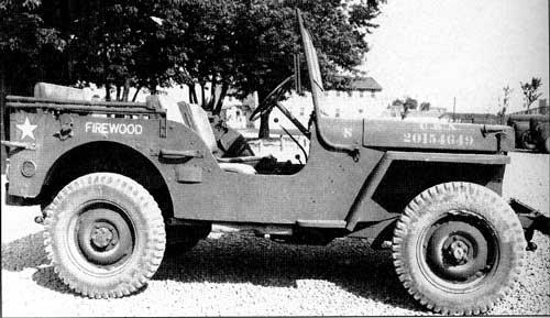 Military Jeep Parts >> The Wooden Willys Jeep Test