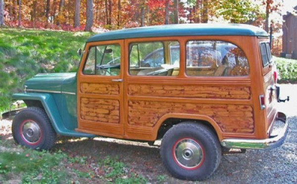 1958 Willys Jeep Wagon http://blog.kaiserwillys.com/janes-1958-willys-station-wagon