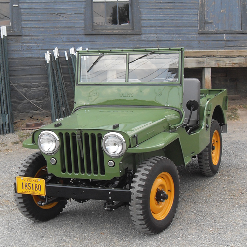 Brandon Girmus 1946 Willys CJ-2A Jeep