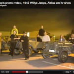 1942 Willys Jeep Africa & TV Show