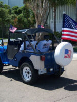 Thomas W Hayek's 1946 Willys CJ-2A Jeep