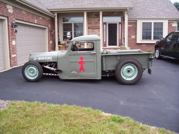 Robert Gessert 1951 Willys Truck Hot Rod