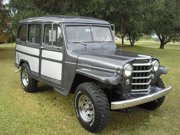 Dwight Toland 1953 Willys Station Wagon