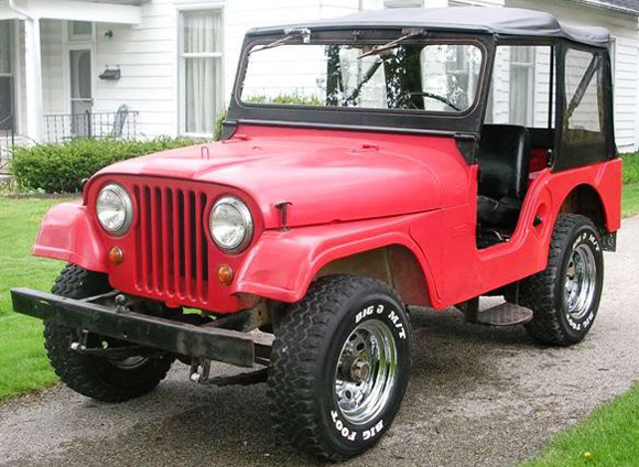 Jason King 1967 Willys CJ-5 Jeep