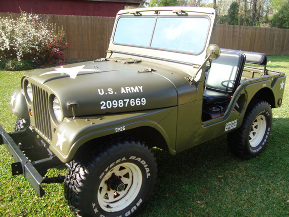 Lee Granger 1953 Willys M38A1 Jeep