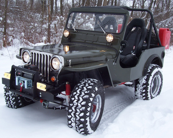 Rob Alkyer 1951 Willys CJ-3A Jeep