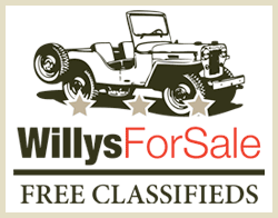 Willys Jeep Classifieds