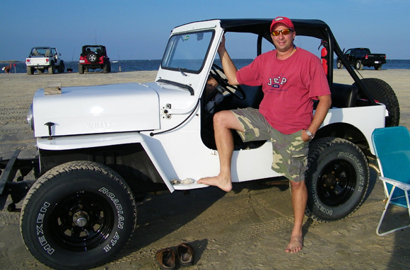 Michael Grimord 1966 Willys CJ-3B Jeep