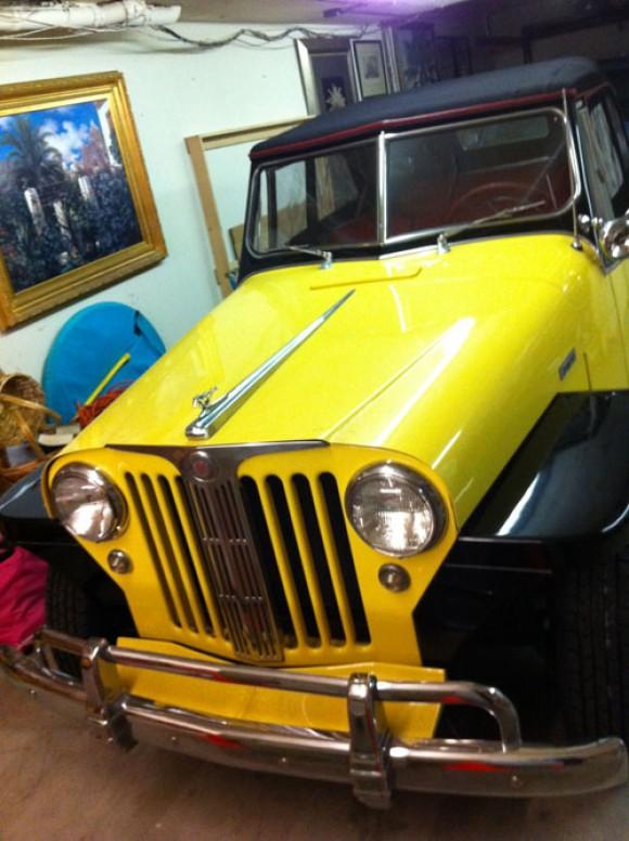 Larry Clopp's 1948 Jeepster