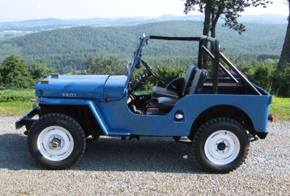 Fred Fuller's 1946 CJ-2A Jeep