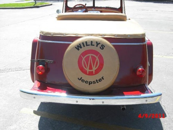Dwight Toland's 1949 Willys Jeepster