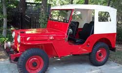 Willys CJ2A - Roger Montambo