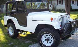 Willys CJ5 - Carl Peak Jr.