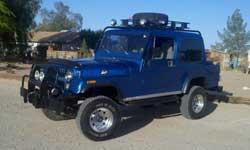 Scrambler Jeep - Leon Wilmot