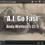 """A.J. Go Fast"" Andy Watford's CJ-5"