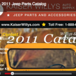 Kaiser Willys Jeep Parts 2011 Catalog