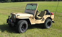 Bob Newbold-Willys 1951 M38