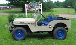 John-Eric Anderson-Willys CJ-3A