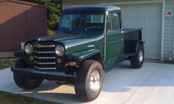 Mike Morrison-Willys 1951 Truck