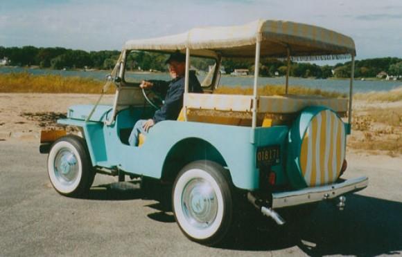 Bruce Wierda's 1960 Surrey Gala Jeep