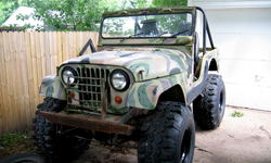Steve Humphrey-Willys 1969 CJ-5