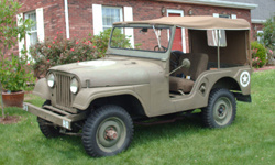 Tony Adkins-Willys 1961 CJ-5