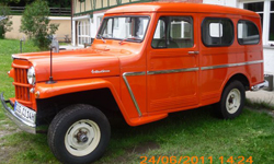 Wolfgang Stoll-Willys 1963 Station Wagon