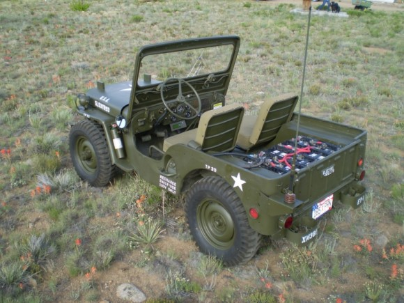Quot Electro Willys Quot The Electric M38 Willys Jeep