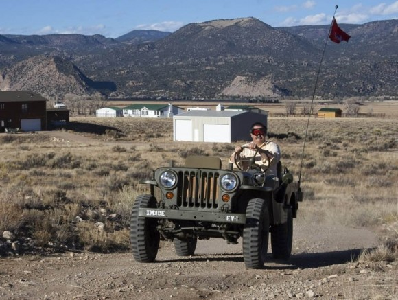 Mike Picard's 1952 M38 Willys Jeep