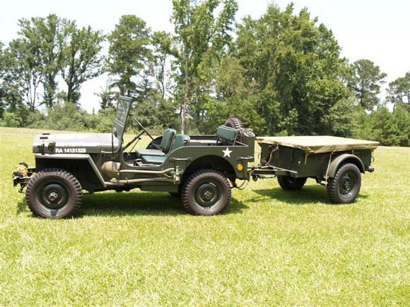 Marcus Ellis' 1942 Willys MB