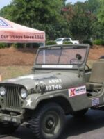 """Salute Our Troops"" 1952 Willys M38A1"