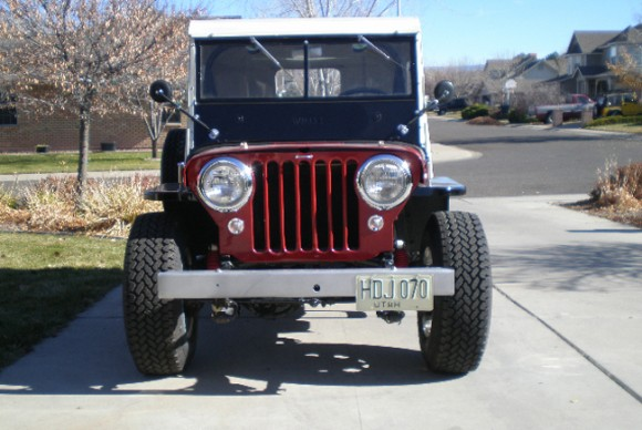 Kevin Howell's 1948 CJ-2A