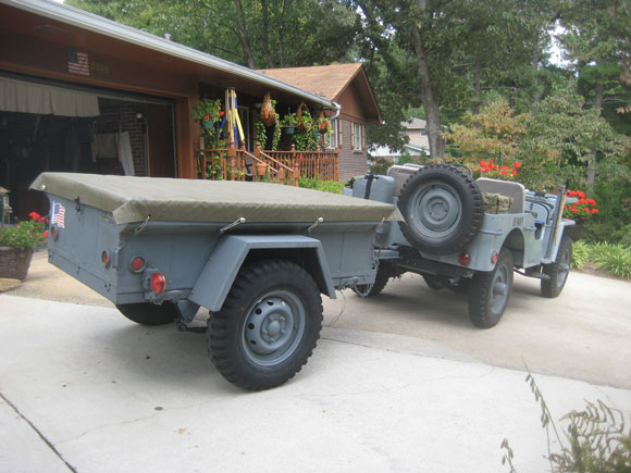 Kent Khuen's Navy Willys Jeep